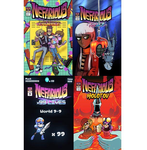 Josh Hano is creating Nefarious Comics | Patreon